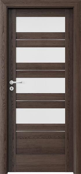 Interiérové dveře VERTE C - C4 intarzie