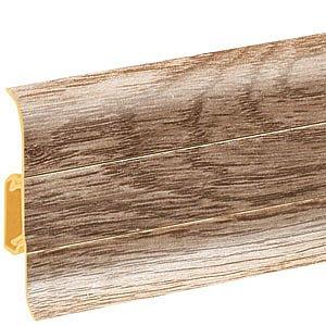 obrázek Podlahová lišta soklová - Cezar Premium 166
