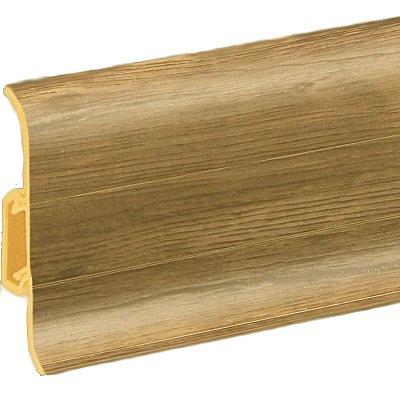 obrázek Podlahová lišta soklová - Cezar Premium 180