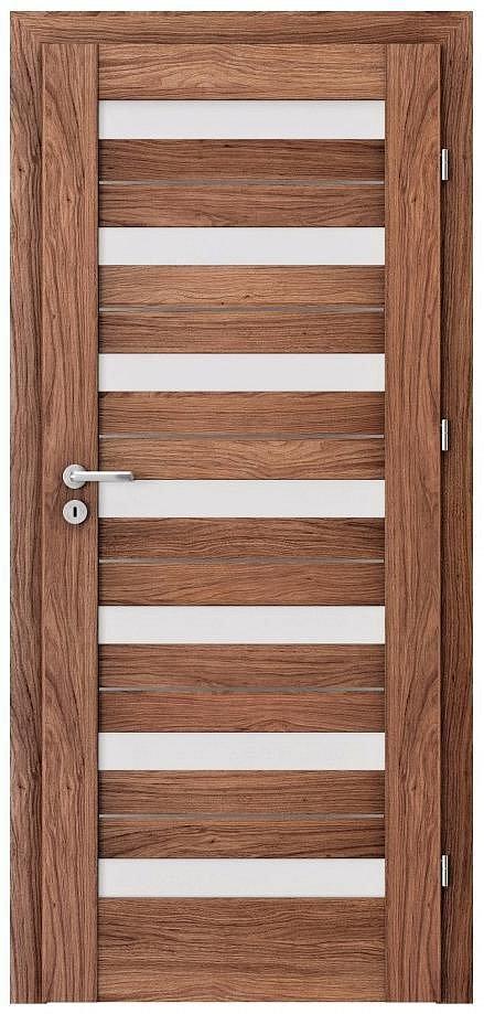 Interiérové dveře VERTE D - D7 intarzie