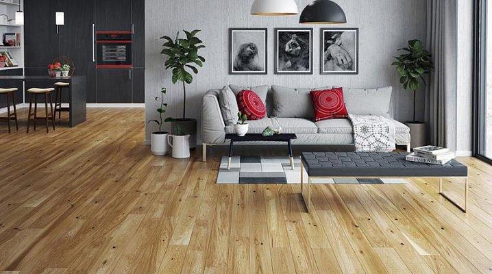 Dřevěná podlaha Barlinek Pure - Dub Conchi Piccolo