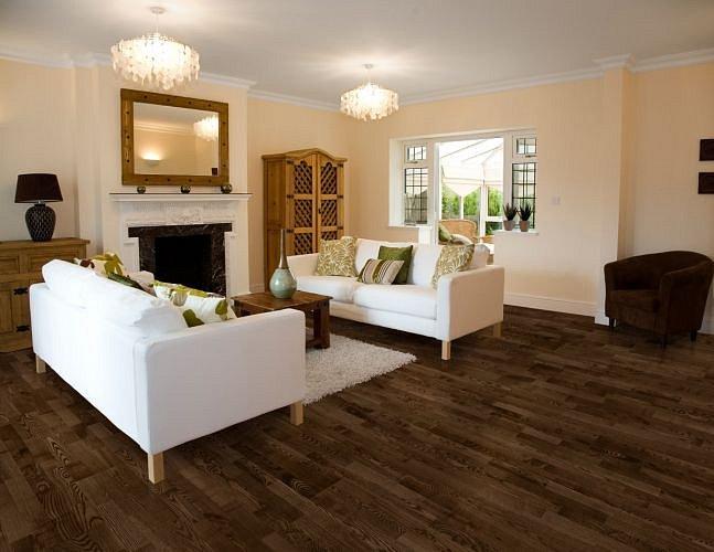 Dřevěná podlaha Barlinek Decor - Jasan Coffee Molti