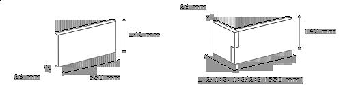 obrázek Venkovní Obklad Stegu - Palermo white