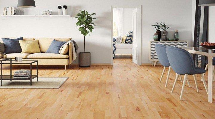 Dřevěná podlaha Barlinek Life - Buk Masuria molti