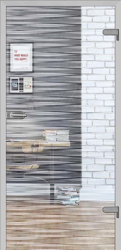 obrázek Skleněné dveře DRE GALLA 10 čiré sklo
