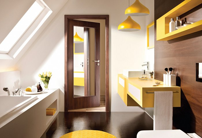 obrázek Interiérové dveře PORTA NOVA 2.2 - zrcadlo
