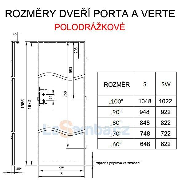 obrázek Interiérové dveře PORTA KONCEPT C.2