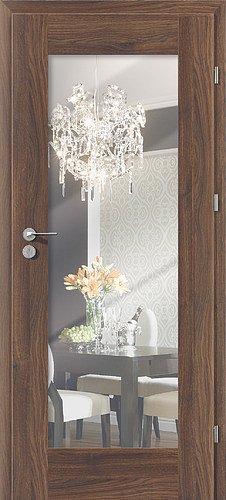 Interiérové dveře PORTA INSPIRE A.1 - zrcadlo