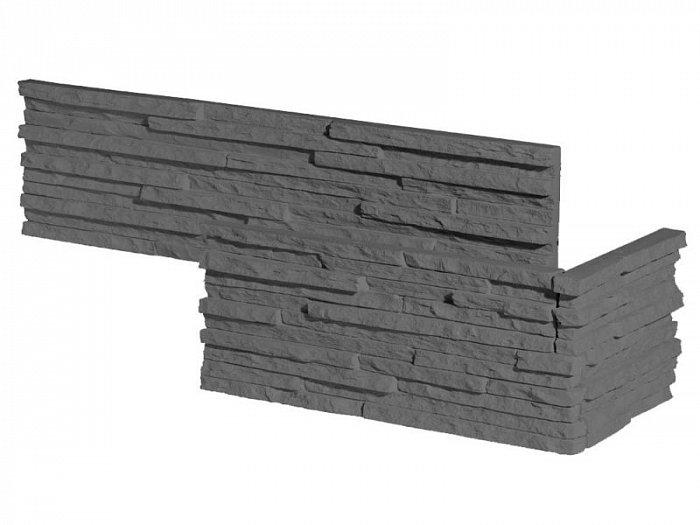 obrázek Venkovní Obklad Stegu - Palermo graphite (roh)