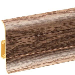obrázek Podlahová lišta soklová - Cezar Premium 168