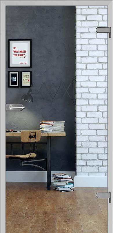 obrázek Skleněné dveře DRE GALLA 1 čiré sklo