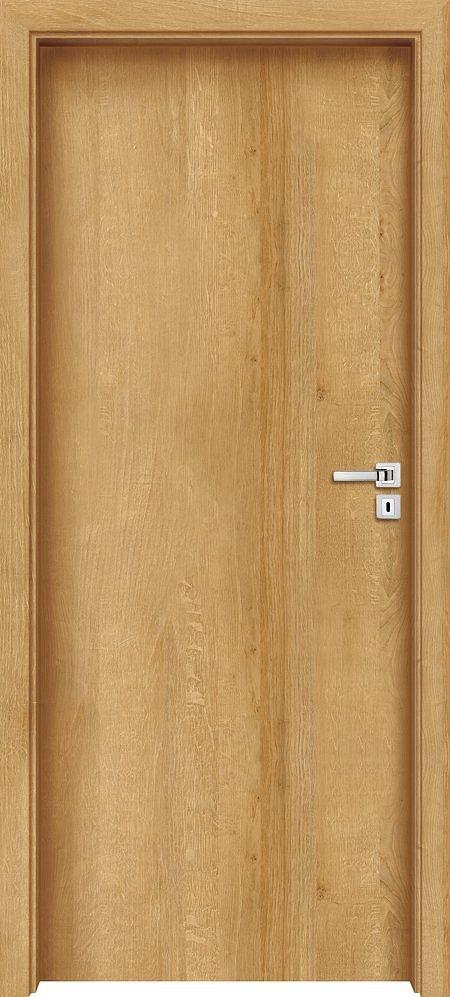 """Interiérové dveře EGO LINE LIMES 1 - Dub Evropský B639, levé """"60"""", zámek pro BB, voština"""