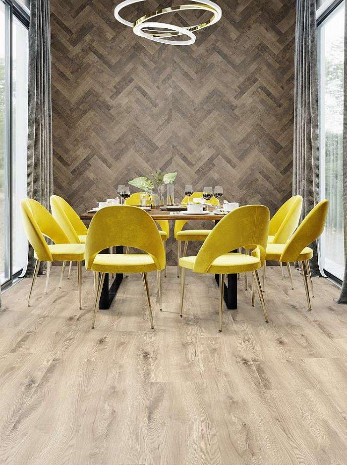Vinylová podlaha Kronostep SPC XL - Borgo Oak R112