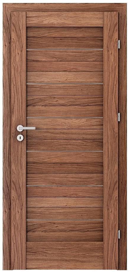 Interiérové dveře VERTE D - D0 intarzie