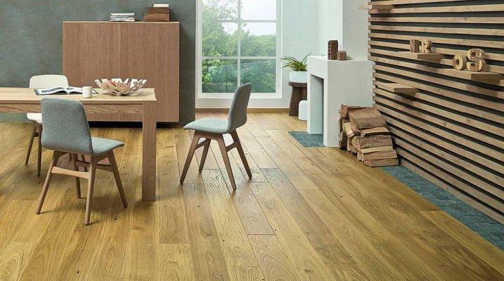 Dřevěná podlaha Barlinek Pure - Dub Caramel Grande