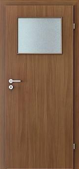 obrázek Interiérové dveře VERTE BASIC 1/3 sklo