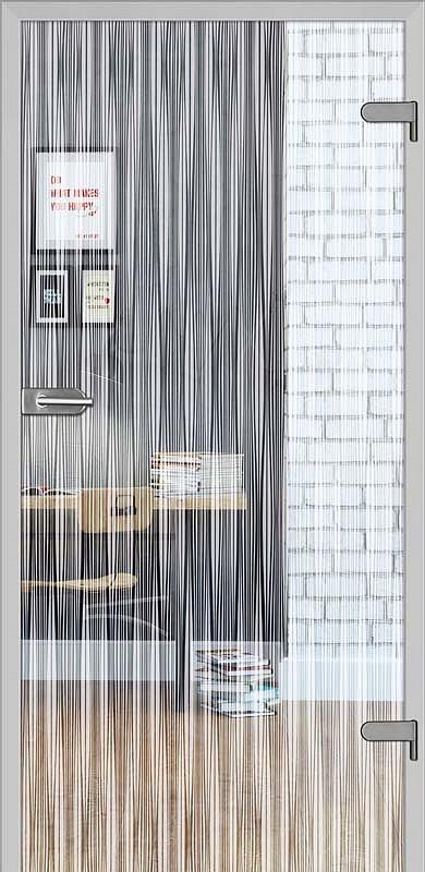 obrázek Skleněné dveře DRE GALLA 11 čiré sklo