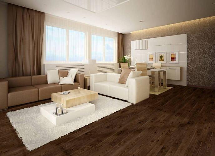 obrázek Dřevěná podlaha Barlinek Pure - Jasan Coffee Grande