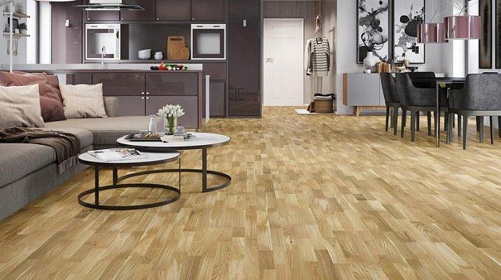 Dřevěná podlaha Barlinek Decor - Dub Sunny Molti