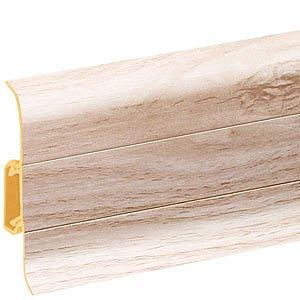 obrázek Podlahová lišta soklová - Cezar Premium 158