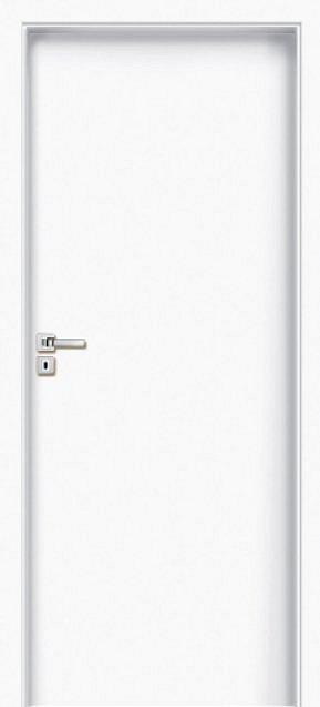 "Interiérové dveře EGO LINE LIMES 1 - Bílá B134, levé ""60"", zámek pro BB, voština"