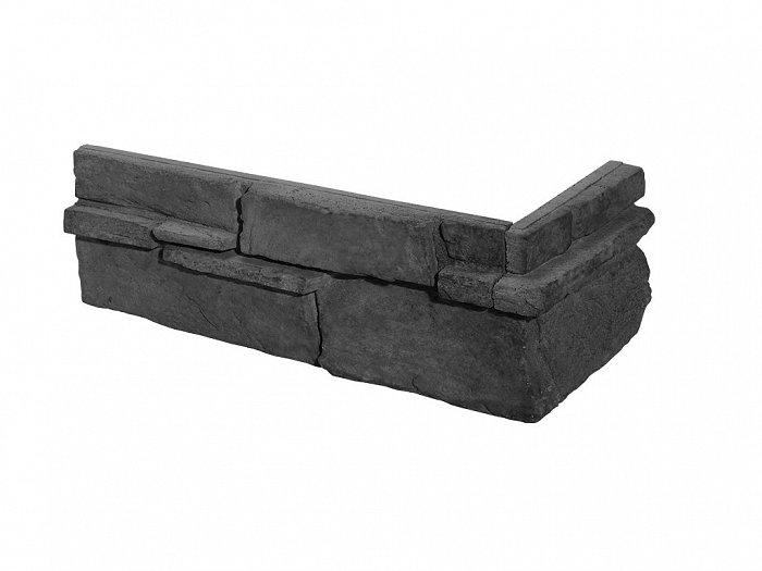 obrázek Venkovní Obklad Stegu - Grenada graphite (roh)