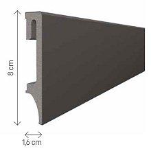 doporučujeme přikoupit: Podlahová lišta soklová VOX Espumo ESP205 - antracit