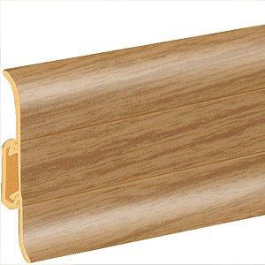 obrázek Podlahová lišta soklová - Cezar Premium 85