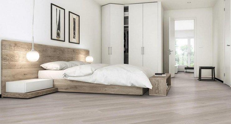 Dřevěná podlaha Barlinek Pure - Jasan Platinum Grande
