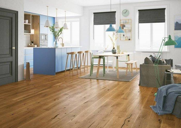 Dřevěná podlaha Bear & Wood - Dub Mount Cook
