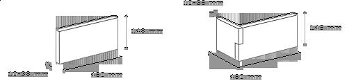 obrázek Venkovní Obklad Stegu - Mexicana graphite (roh)