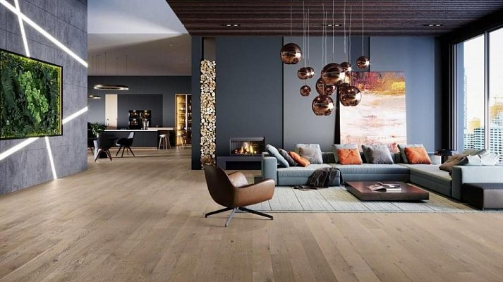 Dřevěná podlaha Barlinek Chutě Života - Dub Amaretti Medio