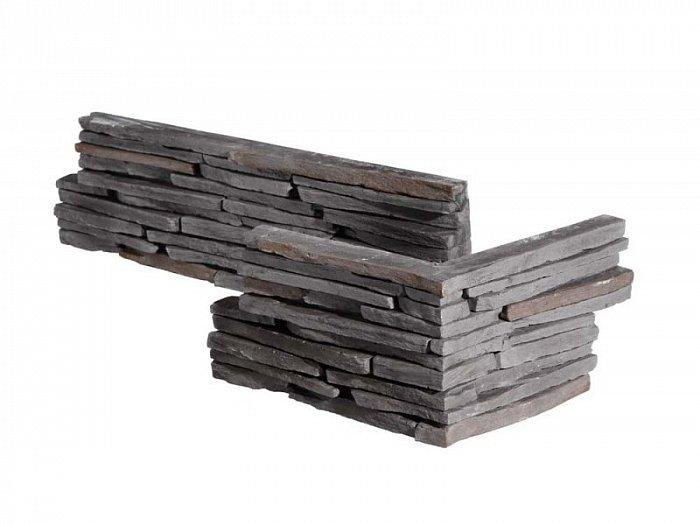 obrázek Obklad Stegu - Venezia graphite (roh)