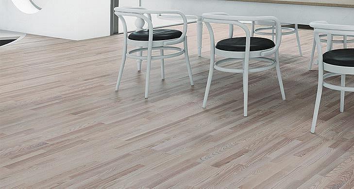 Dřevěná podlaha Barlinek Decor - Jasan Platinium Molti