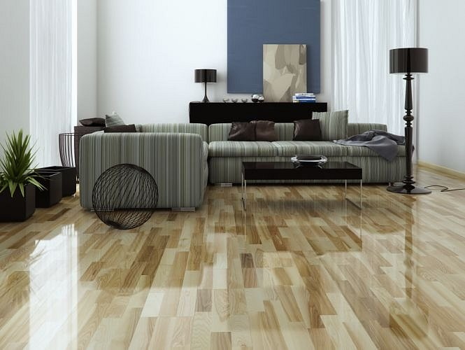 Dřevěná podlaha Barlinek Decor - Jasan Glow Molti