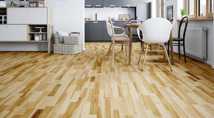Dřevěná podlaha Barlinek Life - Jasan Saimaa molti