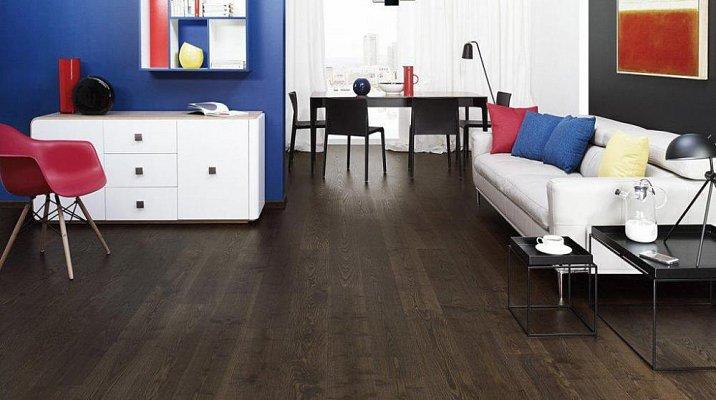 Dřevěná podlaha Barlinek Pure - Jasan Coffee Grande