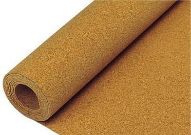obrázek Přírodní korková podložka pod podlahy - role 10 m², 2 mm