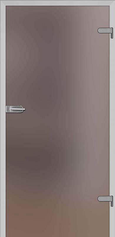 obrázek Skleněné dveře DRE GALLA 1 decormat hnědé