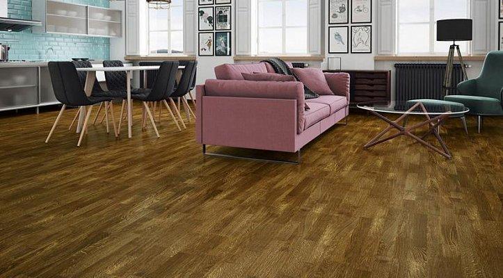Dřevěná podlaha Barlinek Decor - Dub Honey Molti