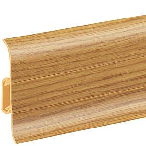 obrázek Podlahová lišta soklová - Cezar Premium 135