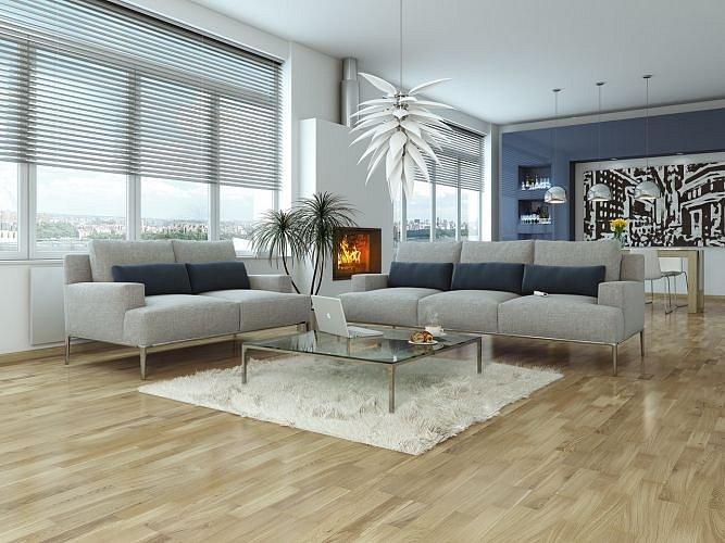 obrázek Dřevěná podlaha Barlinek Decor - Dub Bianco Molti