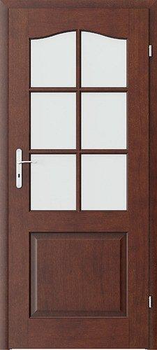 Interiérové dveře PORTA MADRID - střední mřížka