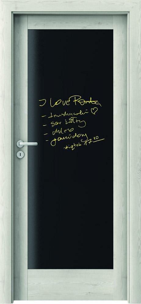 Interiérové dveře VERTE E - E0 s tabulí